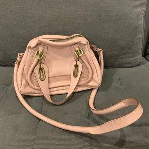 NEW Chloe Paraty Satchel Small, Anemone (Pink)
